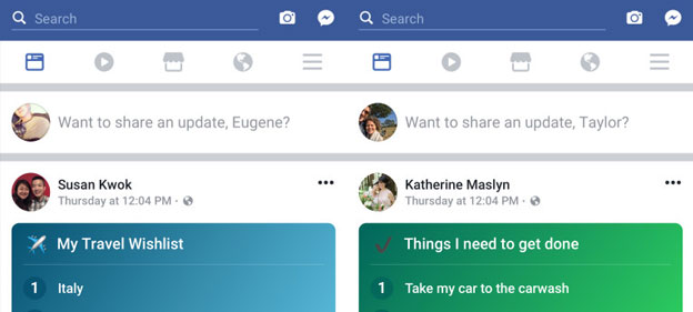 Facebook's cool new feature – Make a public To-do list