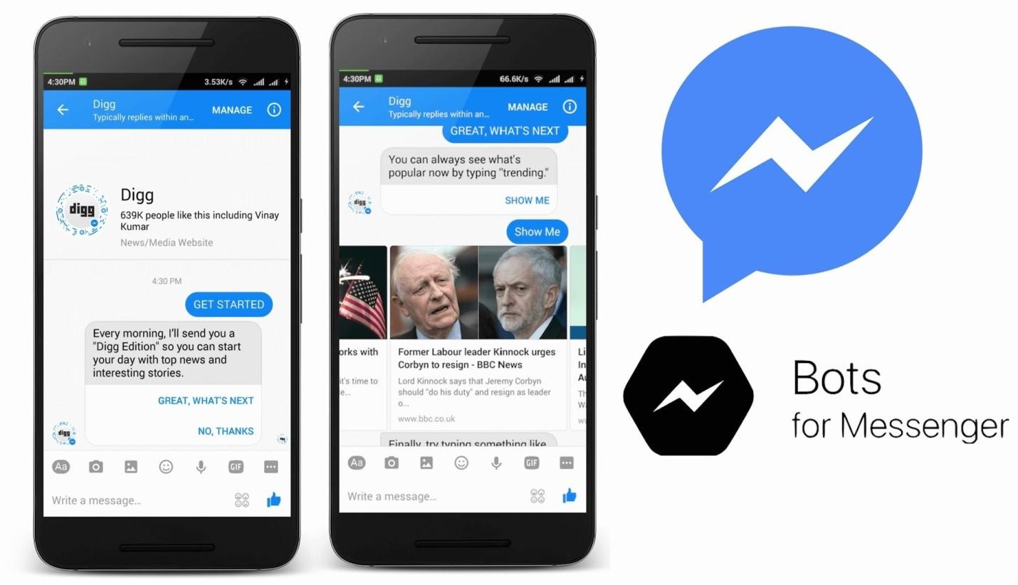 Алгоритм создания бота для Facebook Messenger — Оффтоп на zennoposter.club